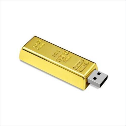 Pen Drive Ouro Personalizado